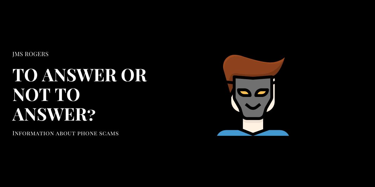 jms rogers blogpost - Impersonator Beware